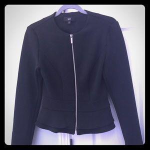 Mossimo peplum jacket / blazer - Black XS